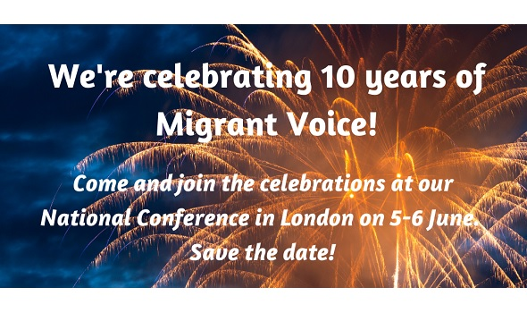 Migrant Voice - We're celebrating 10 years of Migrant Voice