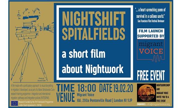 Migrant Voice - Film launch in London
