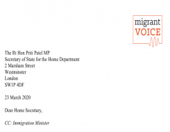 Migrant Voice - Covid-19: Migrant Voice calling for policy changes to help migrants