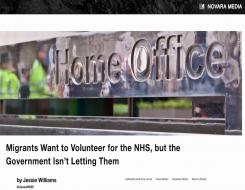 Migrant Voice - MV members speak to Novara Media about volunteering for the NHS