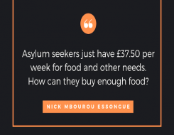 Migrant Voice - Asylum seekers, homelessness and charities: Some difficulties due to Covid-19