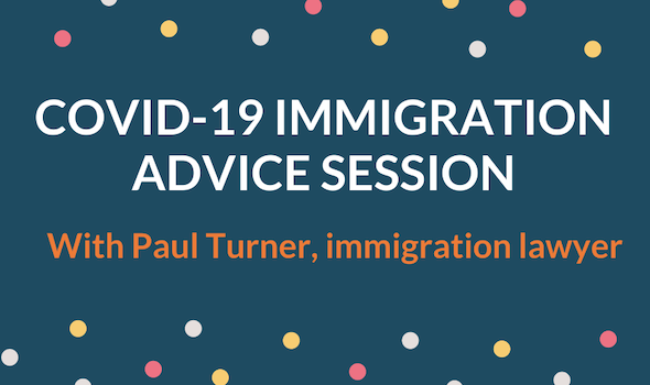 Migrant Voice - Covid-19 advice session with immigration lawyer