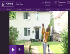 Migrant Voice - MV member speaks to Channel 4 News
