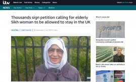 Migrant Voice - Coverage of the Gurmit Kaur campaign
