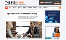 Migrant Voice - PIE News covers MV's call for policy change on international students