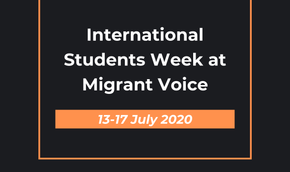 Migrant Voice - International Students Week at Migrant Voice