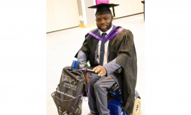 Migrant Voice - Asylum seeker with a disability appeals for help to raise fees for his PhD study