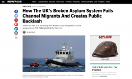 Migrant Voice - Member speaks to Huffington Post about being an asylum seeker in the UK