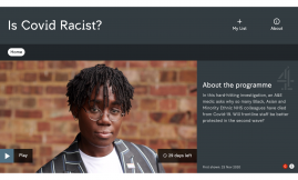Migrant Voice - Is Covid racist?
