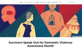 Migrant Voice - MV member interviewed ahead of Domestic Violence Awareness event