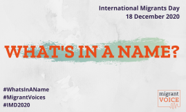 Migrant Voice - What's in a name?