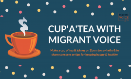 Migrant Voice - National Cup'a'Tea