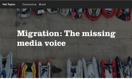 Migrant Voice - MV Director writes about new media monitoring report for Politics