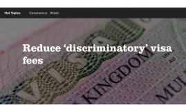 Migrant Voice - Politics publishes MV blog about extortionate visa fees