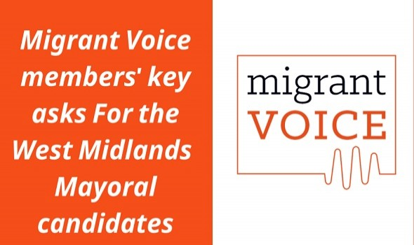 Migrant Voice - Key asks for the Mayoral election