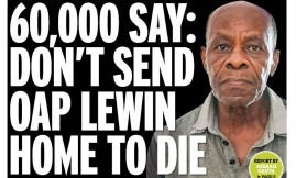Migrant Voice - MV member Lewin makes front page of Birmingham Mail