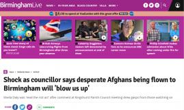 Migrant Voice - MV director quoted in BirminghamLive