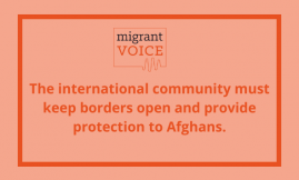 Migrant Voice - Our meeting in solidarity with Afghan refugees and communities