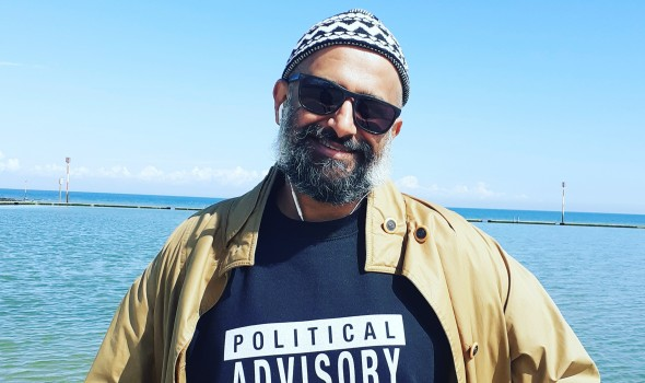 Migrant Voice - I'm A Migrant: Dipesh Pandya on being an activist through art