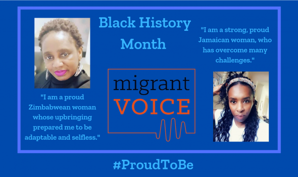 Migrant Voice - Black History Month 2021: Proud To Be