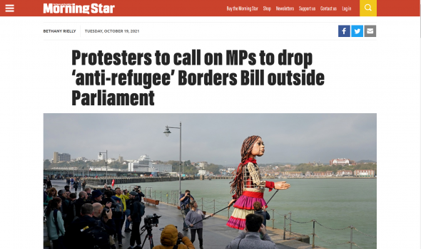 Migrant Voice - MV director quoted in Morning Star