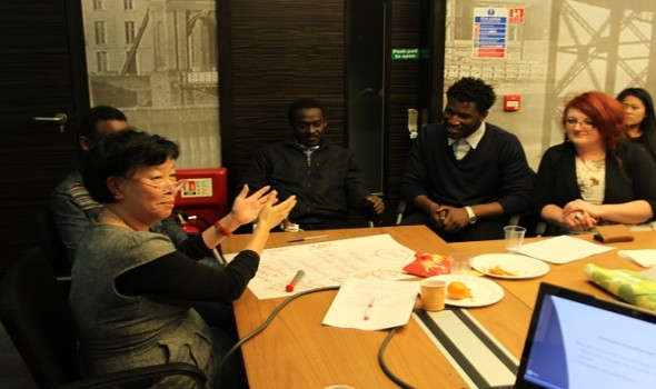 Migrant Voice - First session of Many Voices, One Community