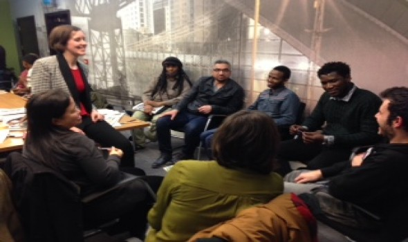 Migrant Voice - Glasgow Migrant Media Lab