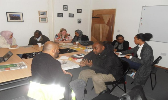 Migrant Voice - Media Lab Masterclass in Birmingham