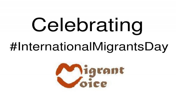 Migrant Voice - Birmingham Letters to the editor, Dec 18th