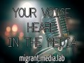 Migrant Voice - Media lab Masterclass November 15th