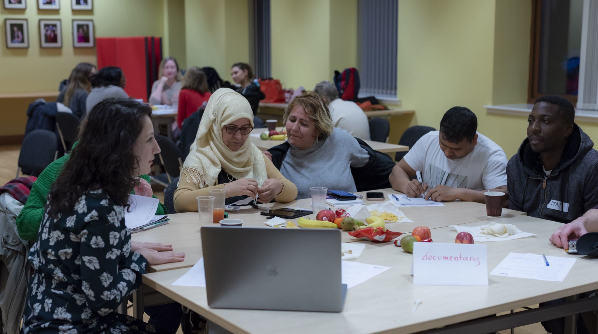 media lab training 'we need to speak for ourselves'