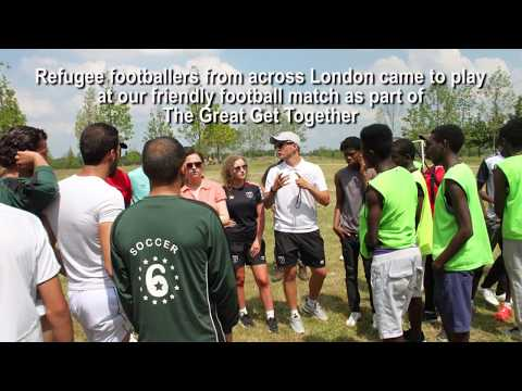 Migrant Voice - MV's Great Get Together Football Match
