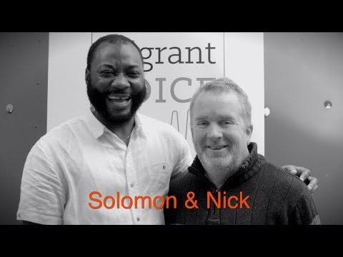 solomon and nick  international migrants day 2018 migrantfriend