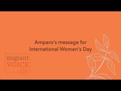 amparo  international womens day 2020