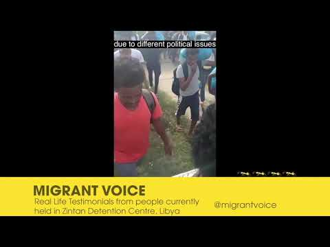 refugees in libya speak out at raah fest